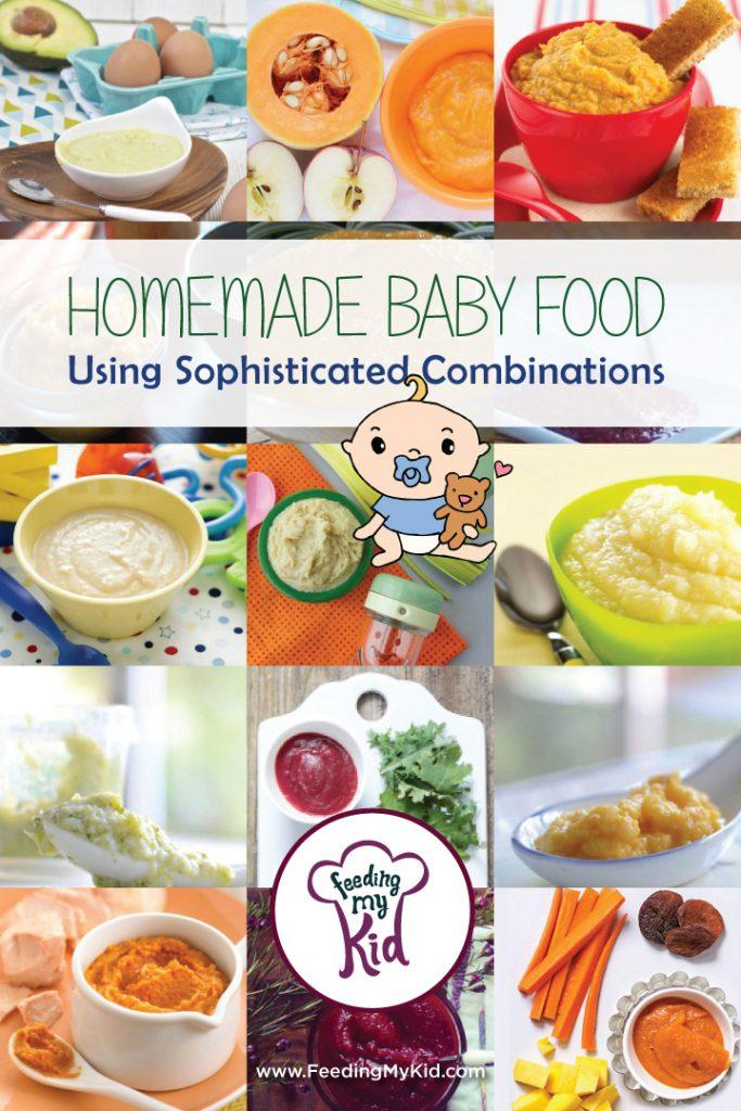 Homemade Baby Food Using Sophisticated Combinations