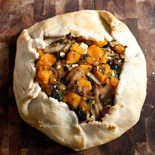 Get the recipe here for Roasted Butternut Squash Galette