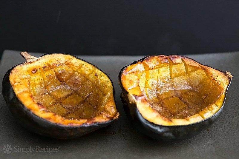 Get the recipe here for Classic Baked Acorn Squash