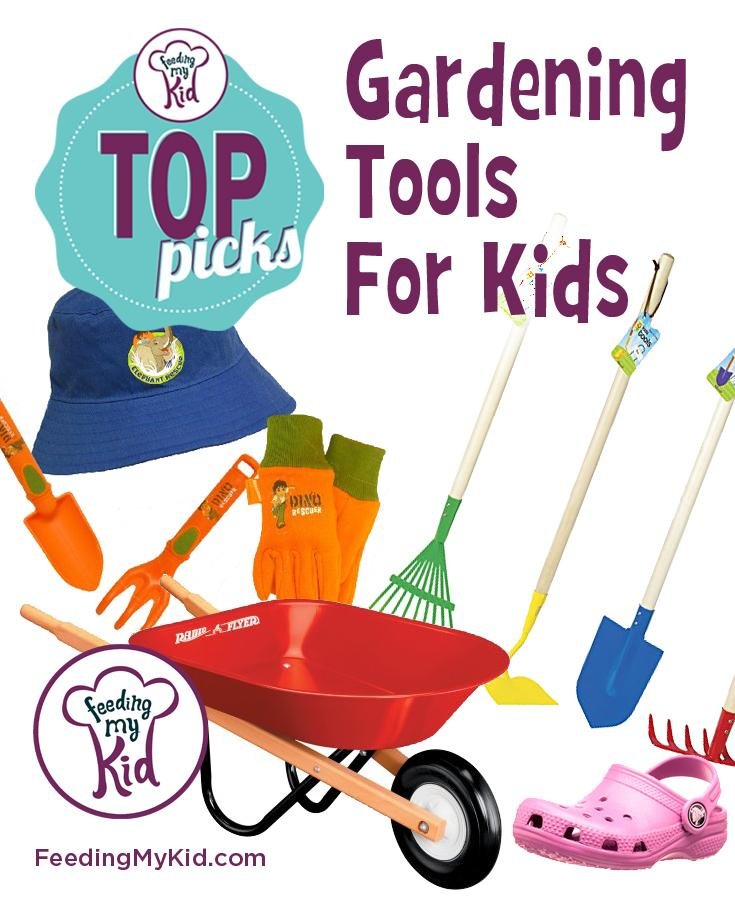 Top picks gardening tools for kids for Childrens gardening tools
