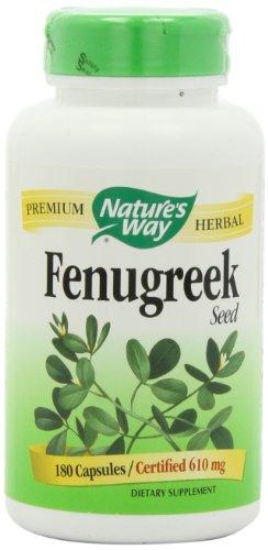 Nature S Way Fenugreek Seed  Mg Capsules Ea
