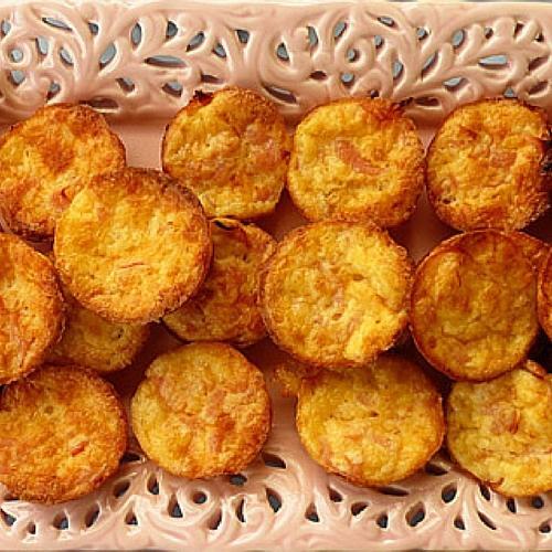 Gluten Free Crustless Mini Quiche