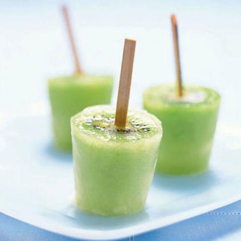 ... charles maraia get the recipe here for this kiwi ice pops