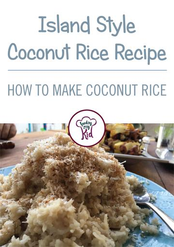 Coconut Rice Recipe [How to Make Coconut Rice]