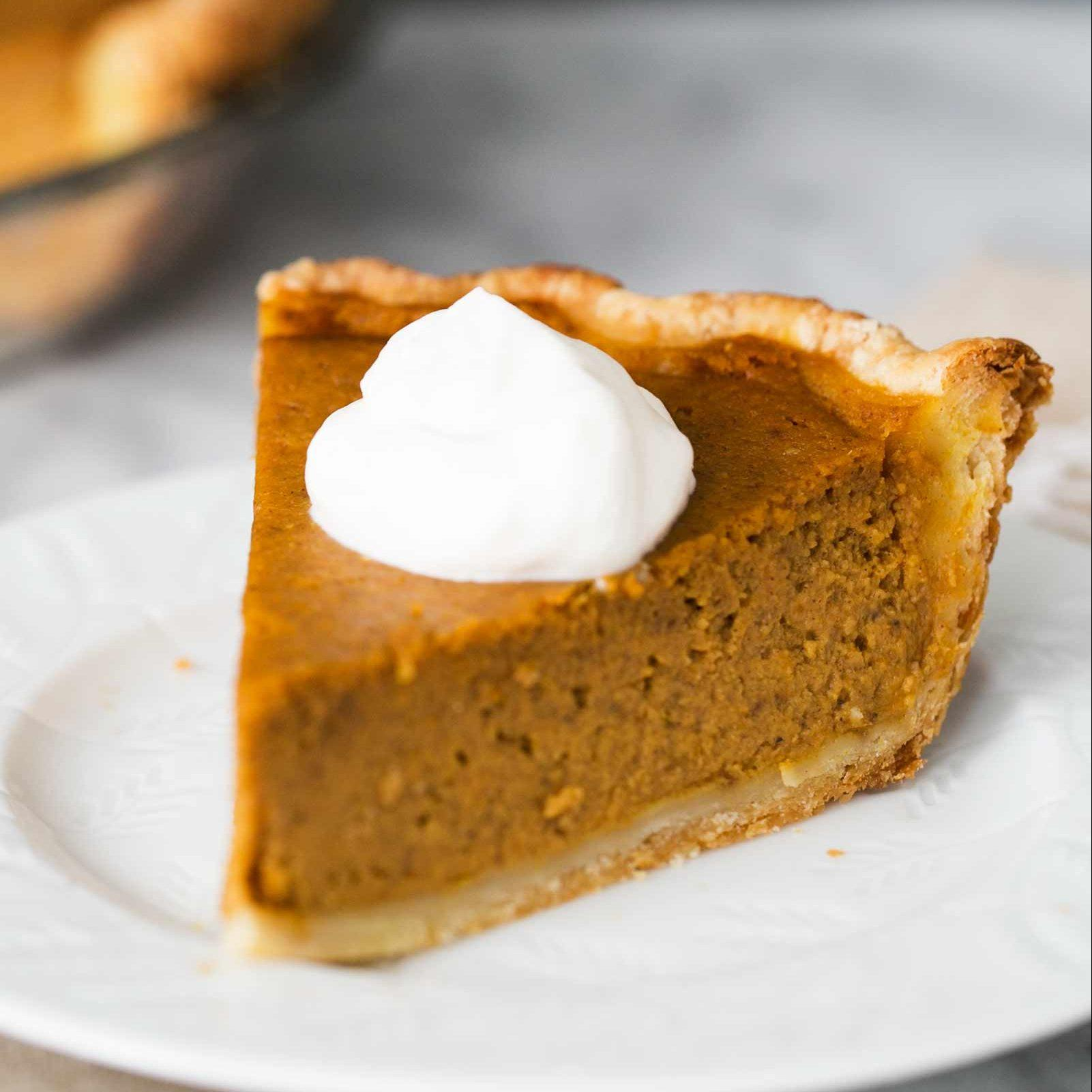 Old fashioned fresh pumpkin pie recipe