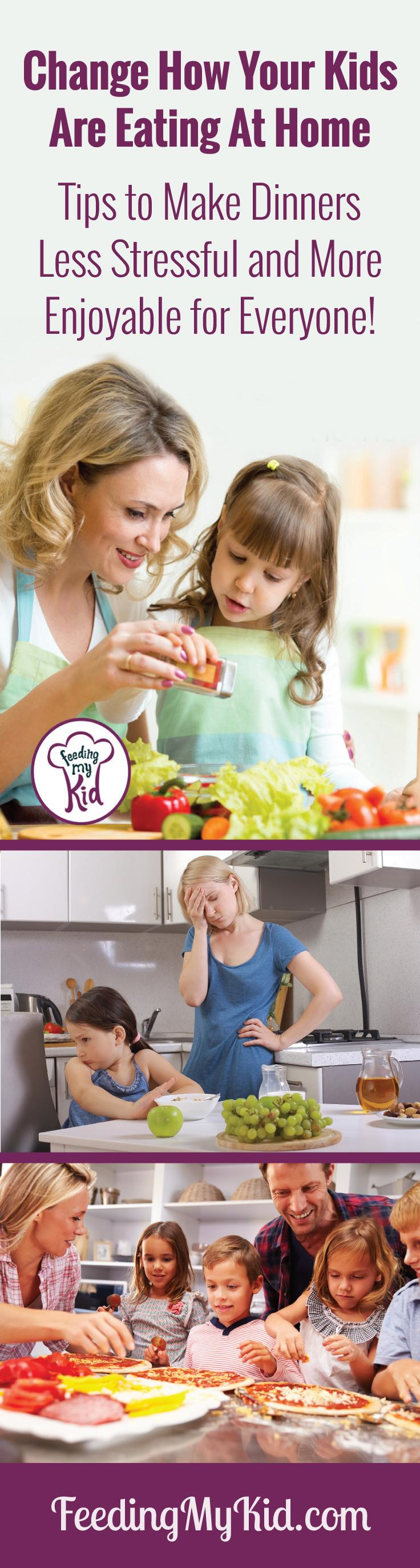 Change How Your Kids Are Eating at Home