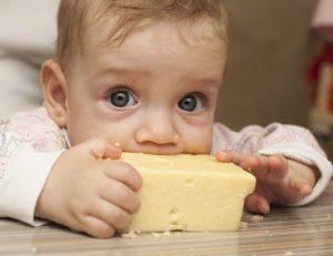 Child-Eating-Cheese