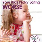 Making picking eating worse