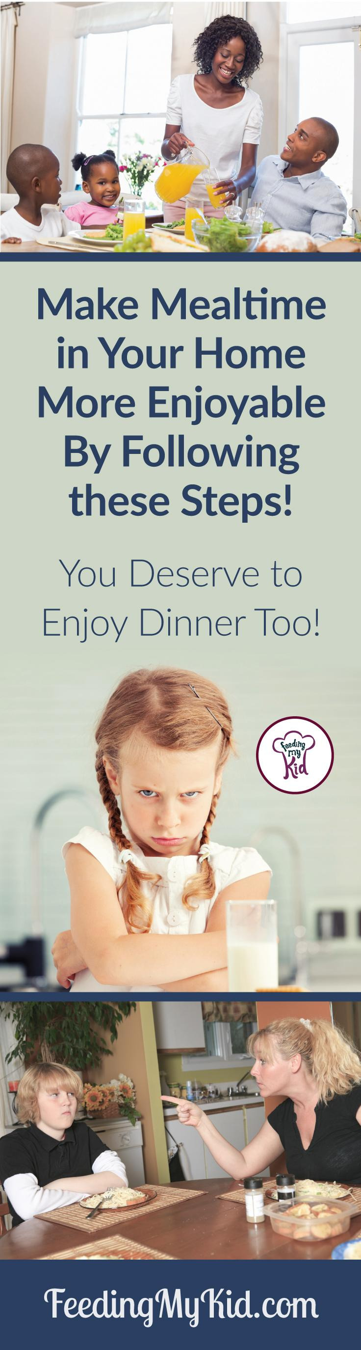 How to start enjoying mealtimes as a family