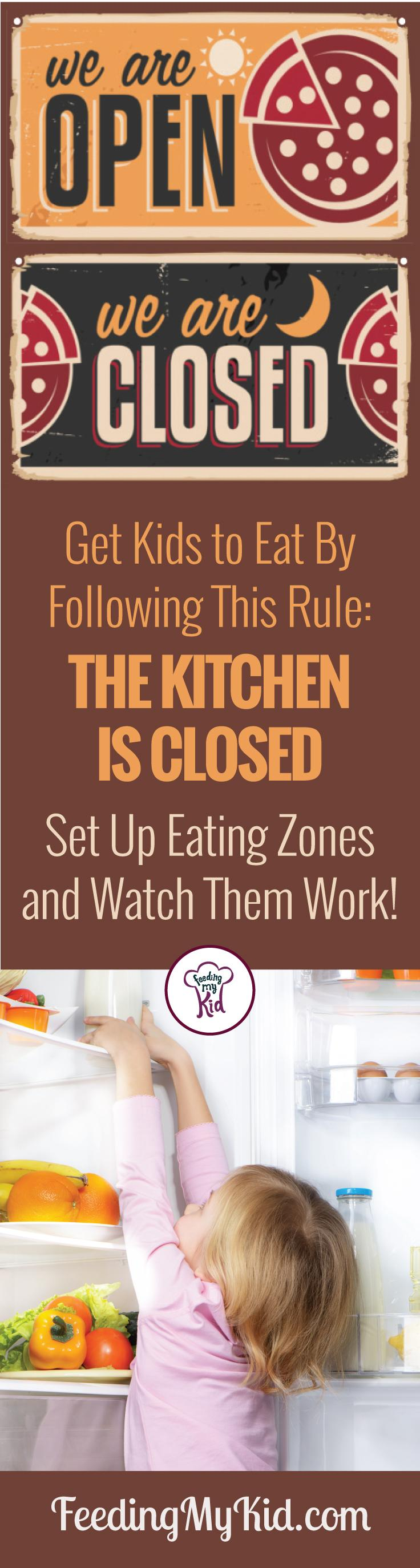 Great article and a must read! Stop picky eating in it's tracks and make mealtimes less stressful using these tips. Picky Eating Tips. No More Grazing Using Eating Zones