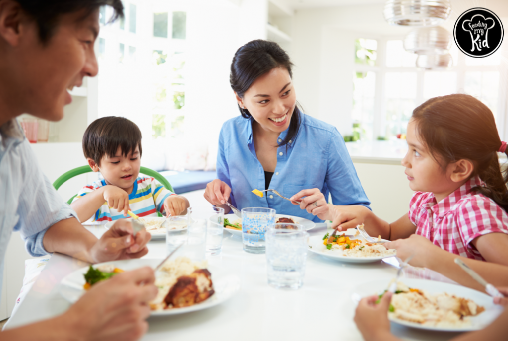 Activities To Help Your Child Get In The Mindset For Having Dinner