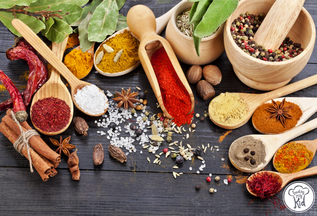 How to Add Spice and Flavor to Food for Kids