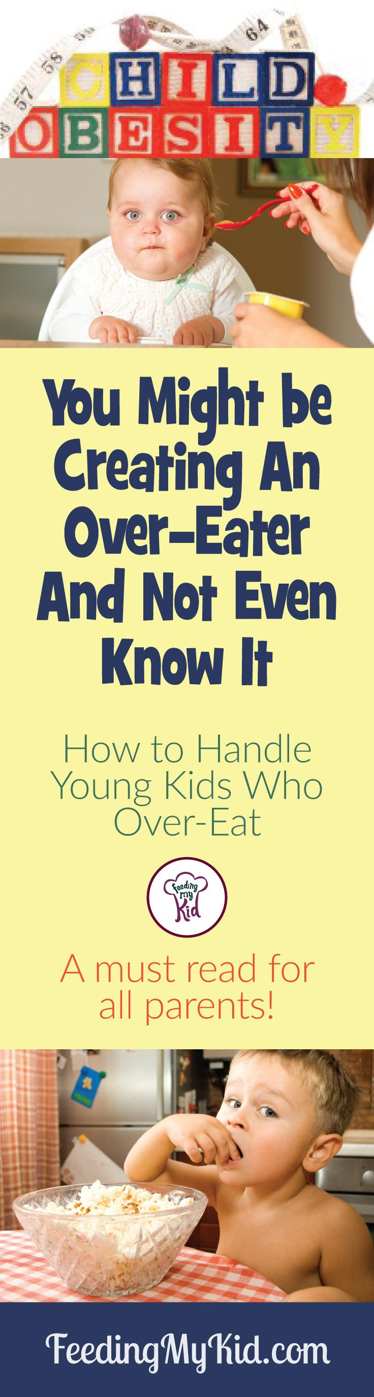 Are You Teaching Your Baby to be an Overeater