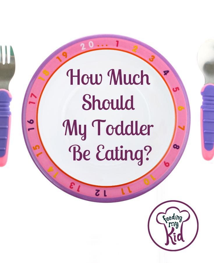 How much should your toddler be eating?