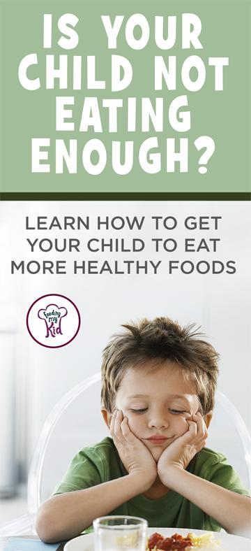 Is your child an under eater? Everything you'll need to know about how to improve your child's eating habits. Feeding My Kid is a website for parents, filled with all the information you need about how to raise your kids, from healthy tips to nutritious recipes. #parenting #healthyeating #undereater