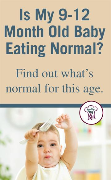 What is a normal eating schedule for a 9 month old? In this article you will find out! Feeding My Kid is a website for parents, filled with all the information you need about how to raise your kids, from healthy tips to nutritious recipes. #parenting #feedingmykid