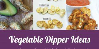 Get Your Kids to Eat More Vegetables: Tons of Vegetable Dipper Ideas