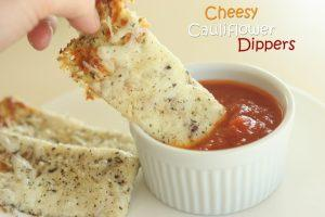 Cheesy Cauliflower Dippers