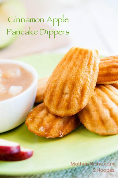 Cinnamon Apple Pancake Dippers Recipe
