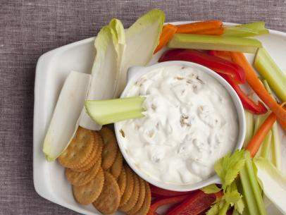 Homemade onion-dip