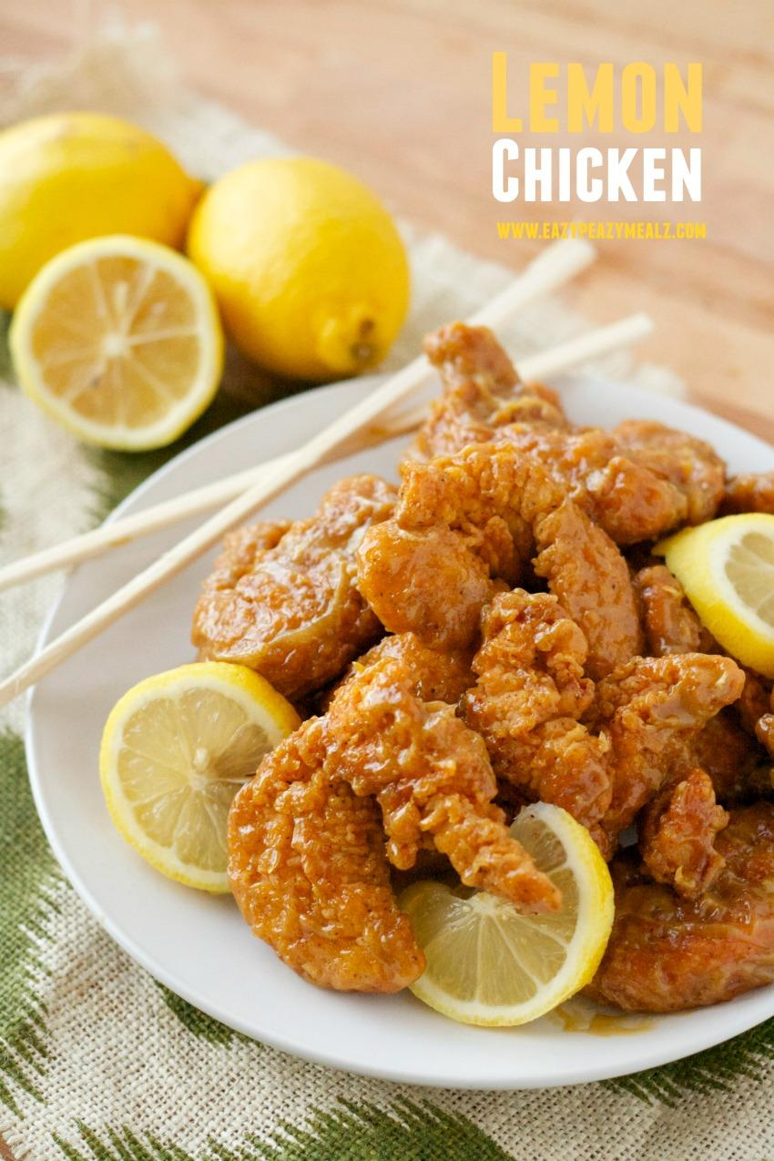 Lemon Chicken Asian to Dip