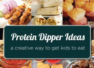Do you want your child to eat more protein? Make Food Fun! Get Protein Dipper Ideas