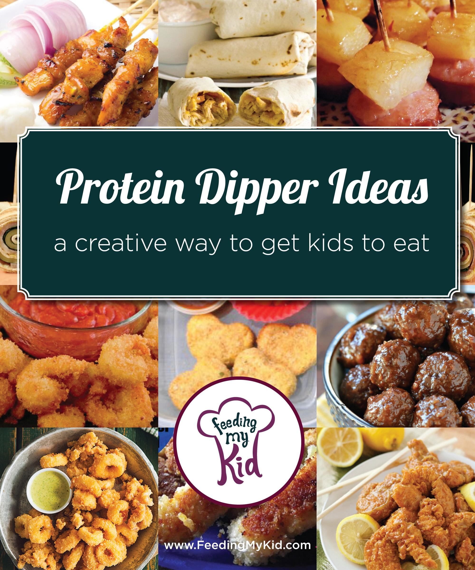 Protein Dippers Ideas
