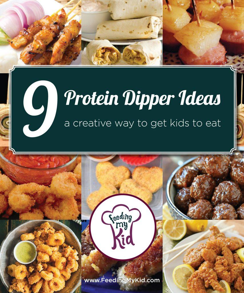 Protein Dippers Ideas- Pinterest multi article layout