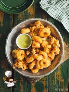Parmesan-Crusted Calamari
