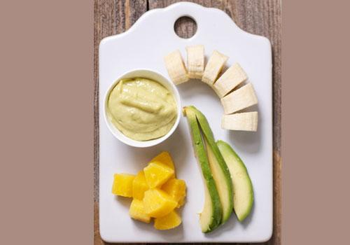 Avocado Pineapple Banana Puree