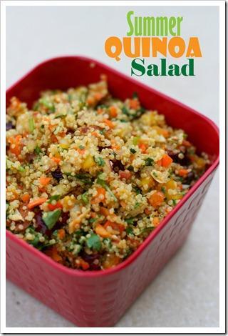 Summer Quinoa Salad Summer Quinoa Salad Recipe