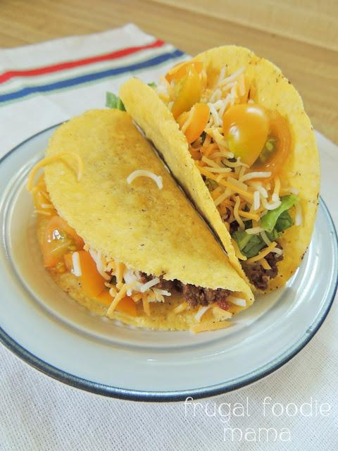 3 Ingredient Crock Pot Beef Tacos Recipe