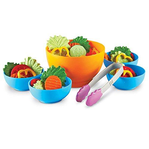 Play Food-Learning Resources New Sprouts Garden Fresh Salad Set