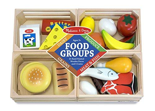 Play Food-Melissa & Doug Food Groups