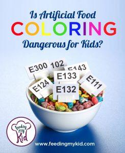 Artificial Food Coloring Danger