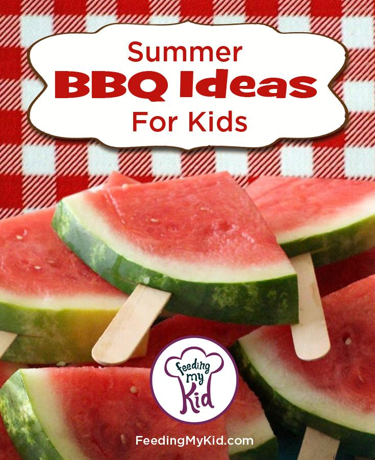 Summer BBQ Ideas for Kids
