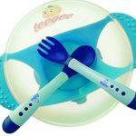 Baby Bowl Set with Fork and Spoon by Teegee