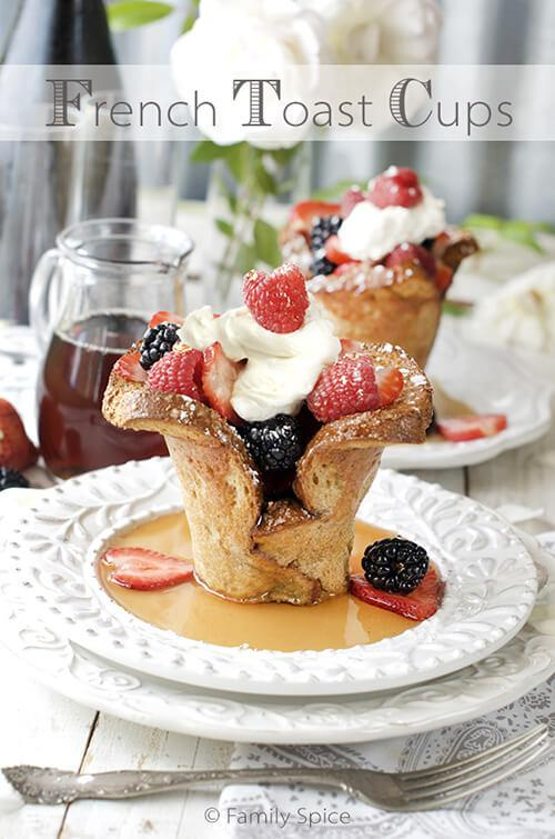 Baked French Toast Cups Recipe