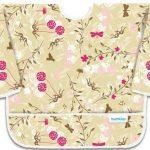 Bumkins-Sleeved-Bib-Flutter-Floral