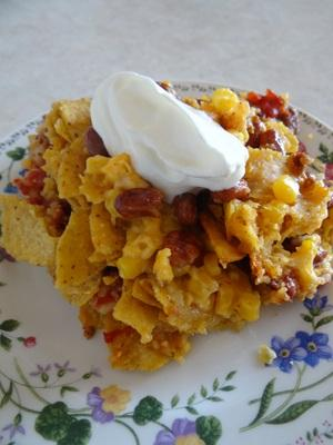Crock Pot Taco Bake Recipe