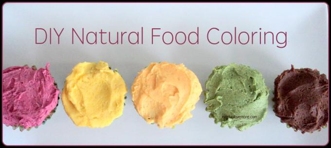 Cupcake-Natural Food Coloring Recipe