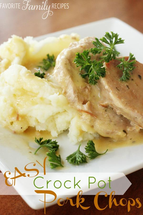 Easy Crock-Pot Pork Chops Recipe