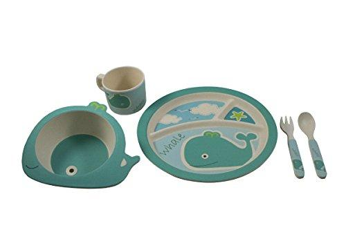 Feeding My Kidu0027s Top Picks EcoBamboo Ware Kids Whale Bamboo Dinnerware Set. Perfect for little hands and a great plastic alternative!  sc 1 st  Feeding My Kid & Feeding My Kidu0027s Top Picks: EcoBamboo Ware Kids Whale Bamboo ...