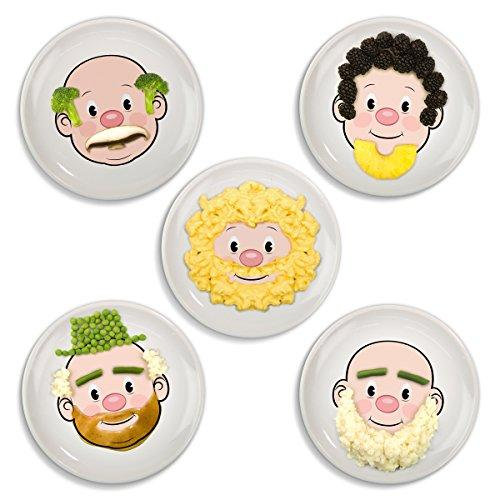 Feeding My Kid's Top Picks: Fred and Friends FOOD FACE Kids' Dinner Plate. Make dinner super fun for even the pickiest eaters!