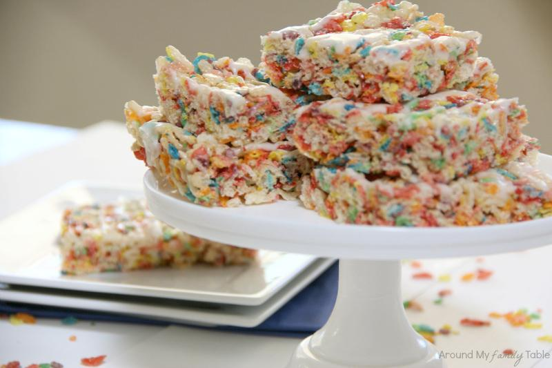 Fruity Pebble Krispies Treats Recipe