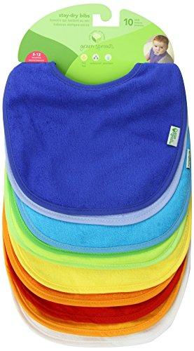 Green Sprouts Waterproof Absorbent Terry Bibs