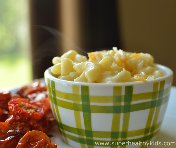 BBW Party Ideas for Kids-Hidden Veggie Mac and Cheese