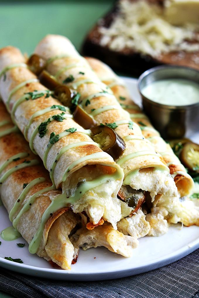 Fun Slow Cooker Recipes-Jalapeno Popper Taquitos