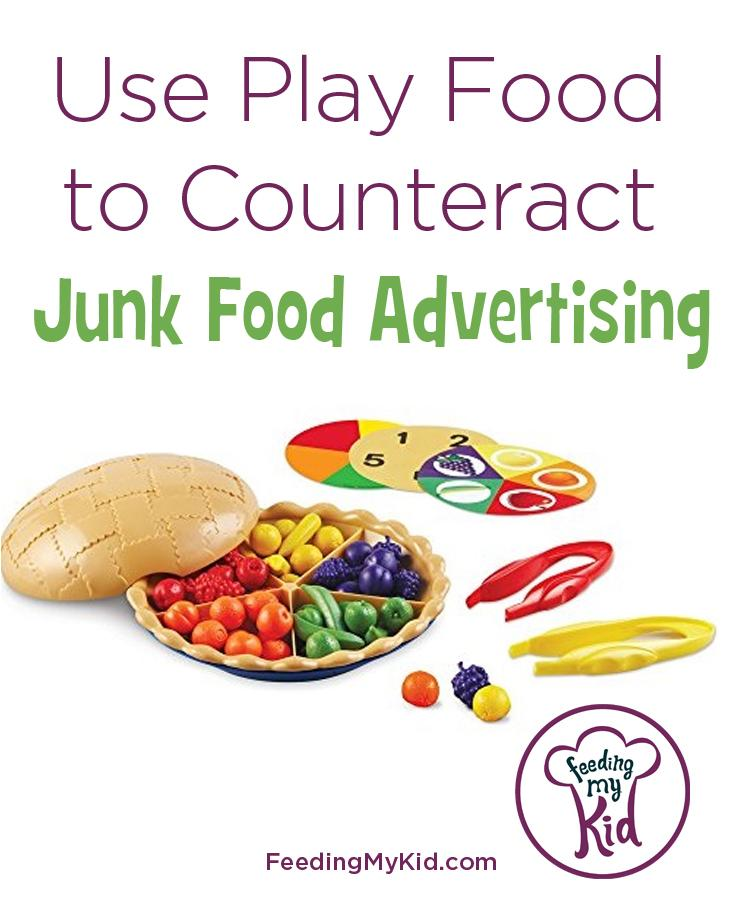 Use Play Food to Counteract Junk Food Advertising