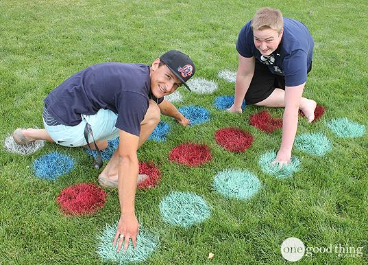 BBQ Party Ideas for Kids-Lawn Twister